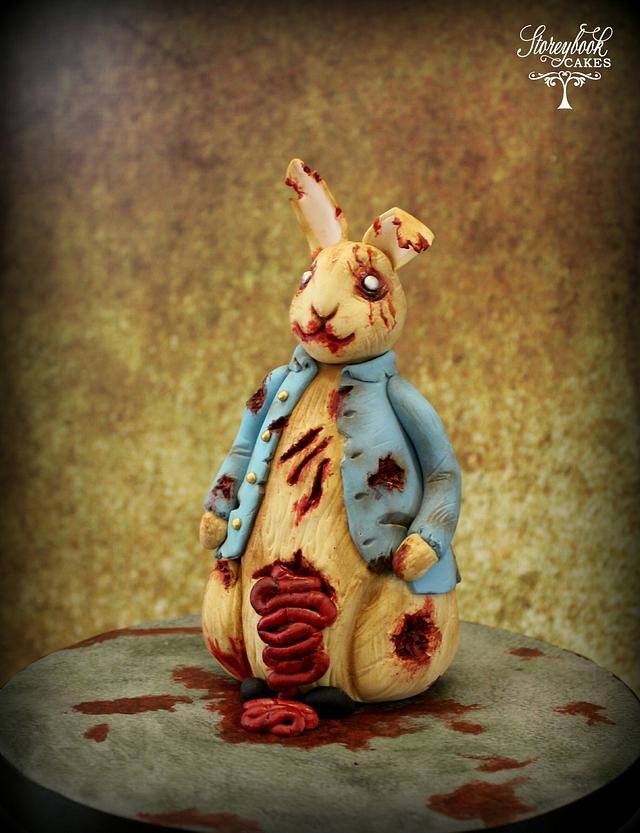 Sugar Art Zombies Collaboration - Peter Rabbit model