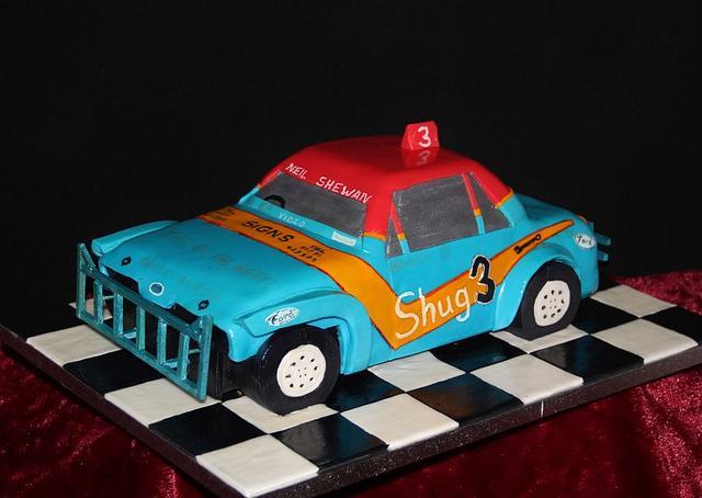 Stock Car Cake