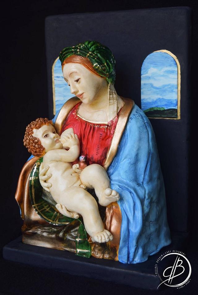 Madona Lita Leonardo Da Vinci Challenge