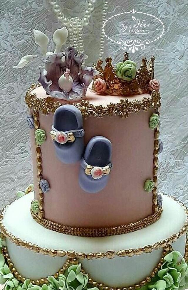 Baby Girl Cake Chic