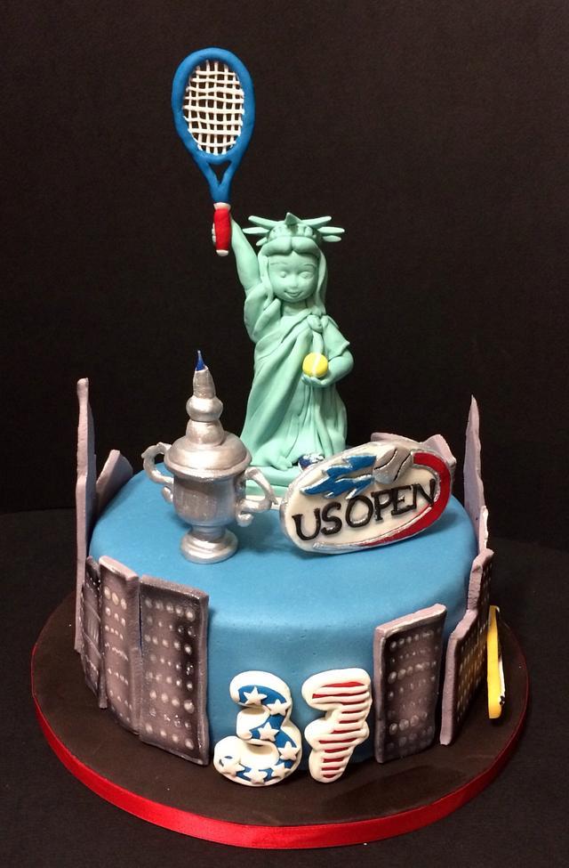 US Open Cake