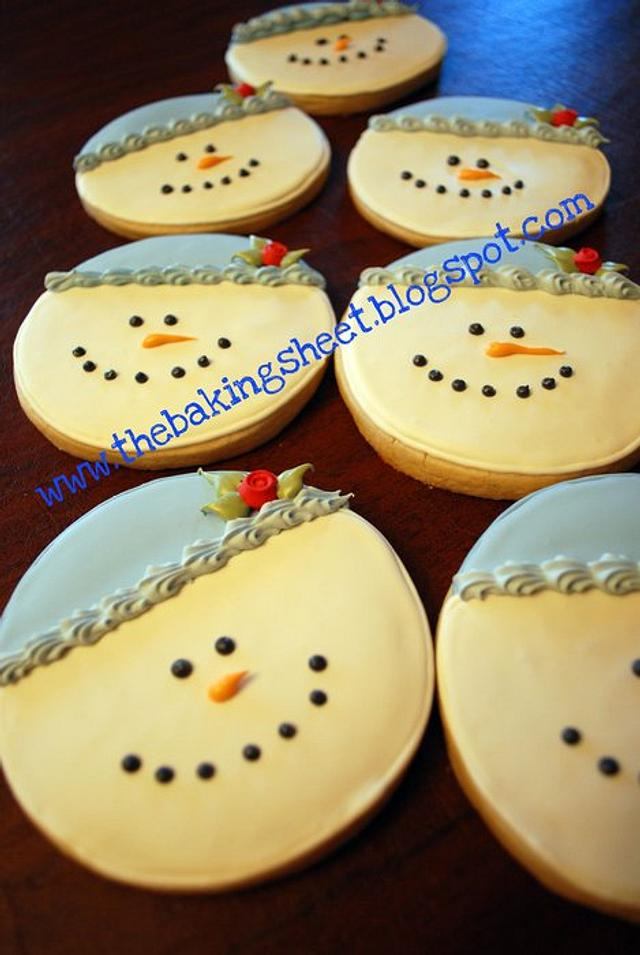 Snowman Cookies!