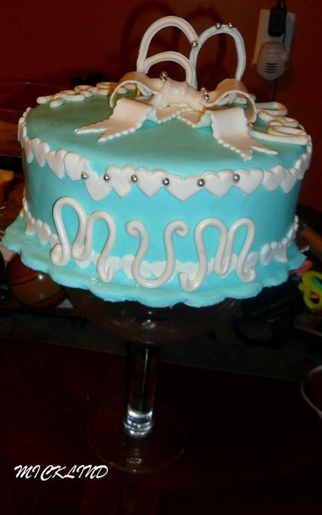 MY MUMS BIRTHDAY CAKE