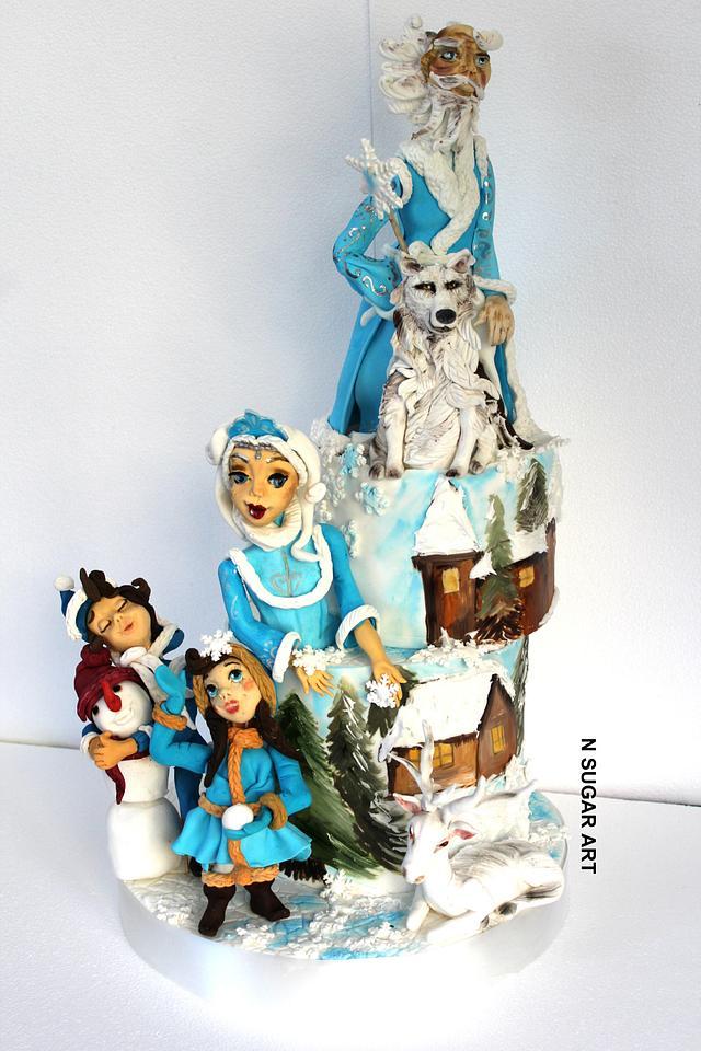 Magic Winter Cake