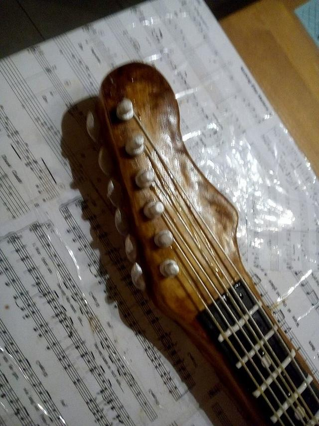 My Guitar Cake