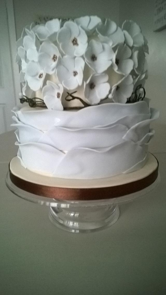 Rustic Birthday Cake