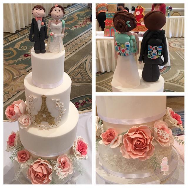 International Wedding cake