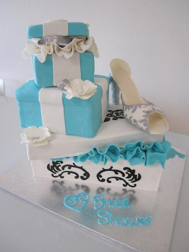 Tiffany & Co. Kitchen Tea/ Bridal Shower Cake