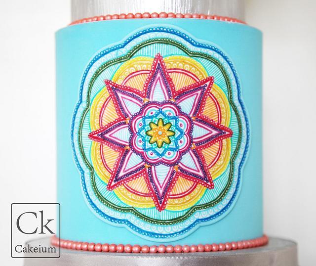 Mandala Cake Project