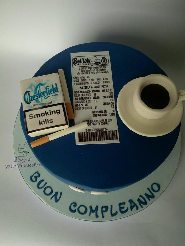 Cake forma men