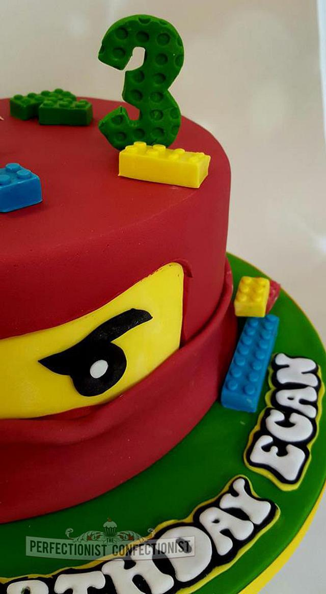 Super Egan Ninjago Lego Birthday Cake Cake By Niamh Cakesdecor Funny Birthday Cards Online Inifofree Goldxyz