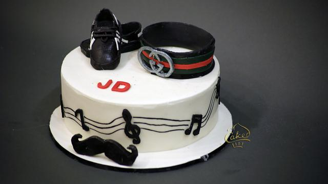 Fine Musical Dj Cake Cake By Caked India Cakesdecor Birthday Cards Printable Trancafe Filternl
