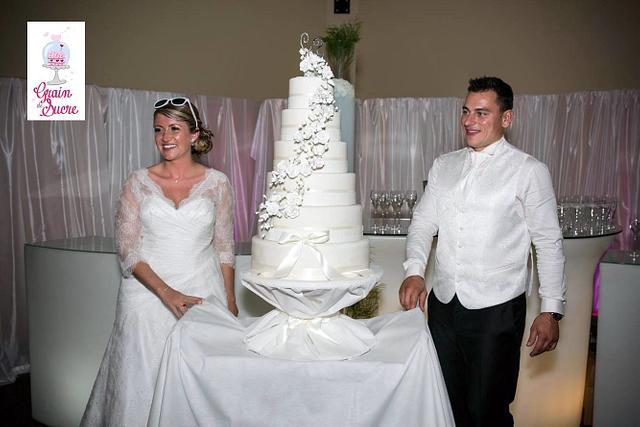 WEDDING CAKE - FLOWER