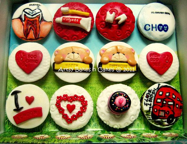 Cupcakes For a Dentist