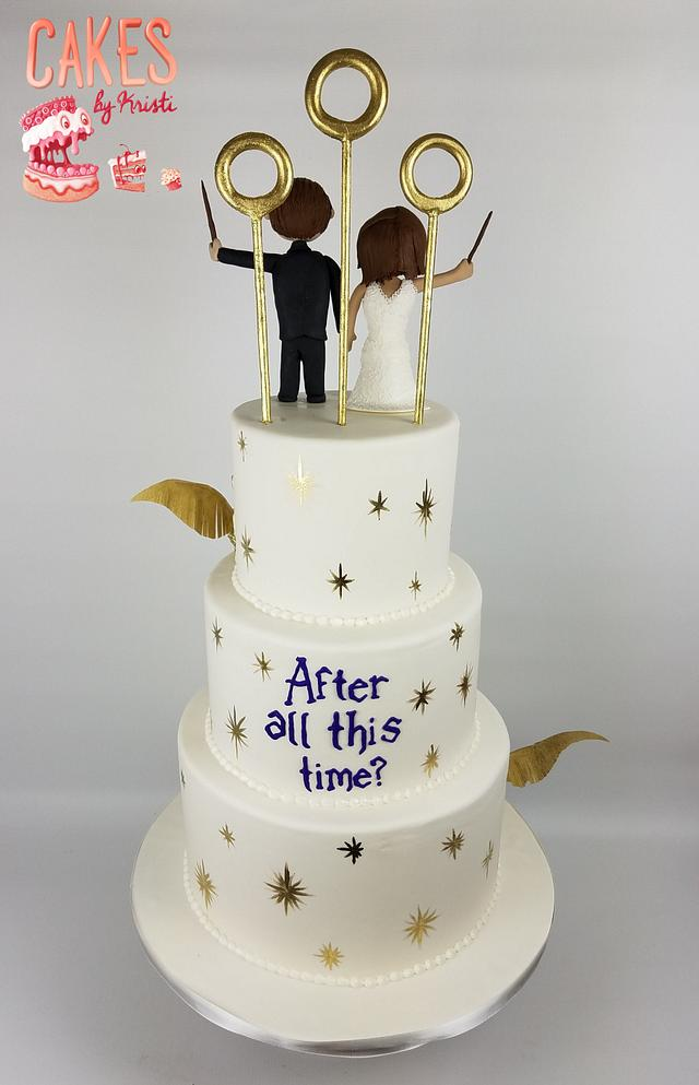 Kesandra and Anthony's Wedding Cake