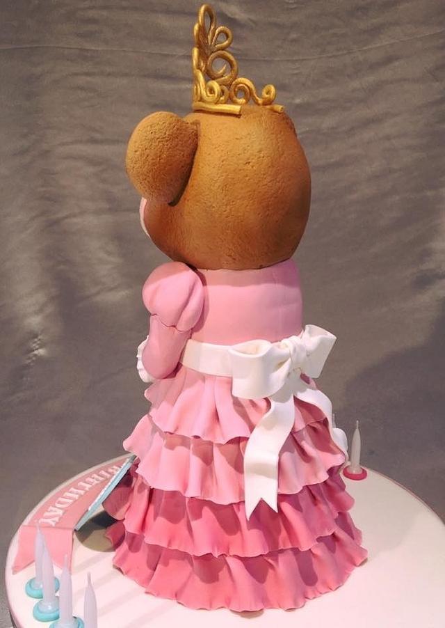 Princess 3D bear cake