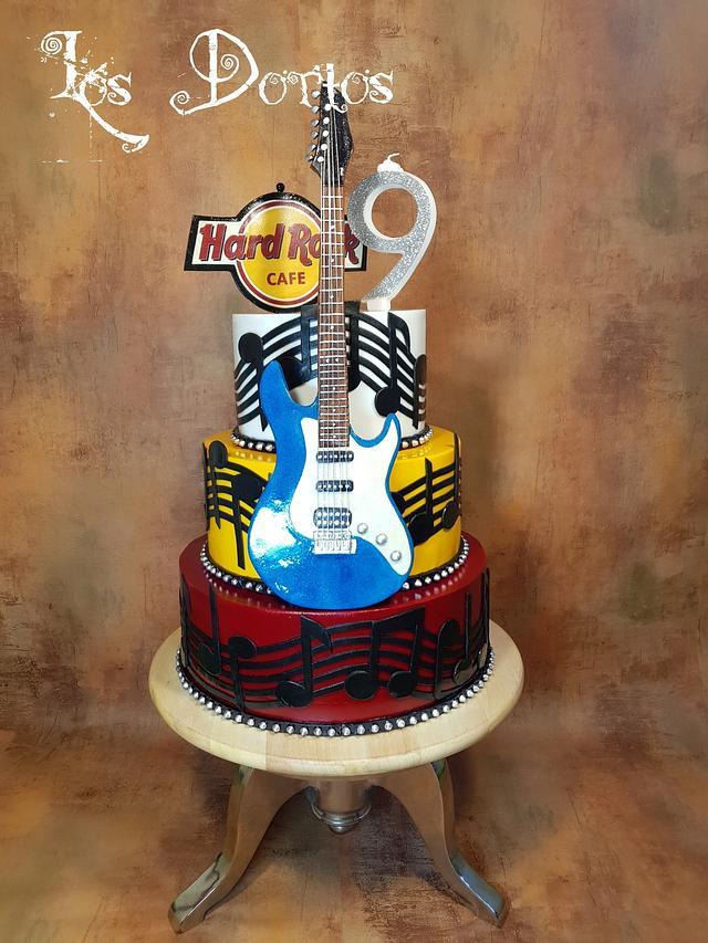 Cake for Hard rock cafe