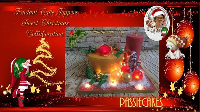 Fondant Cake Topper Sweet Christmas Collaboration - Me to you bear