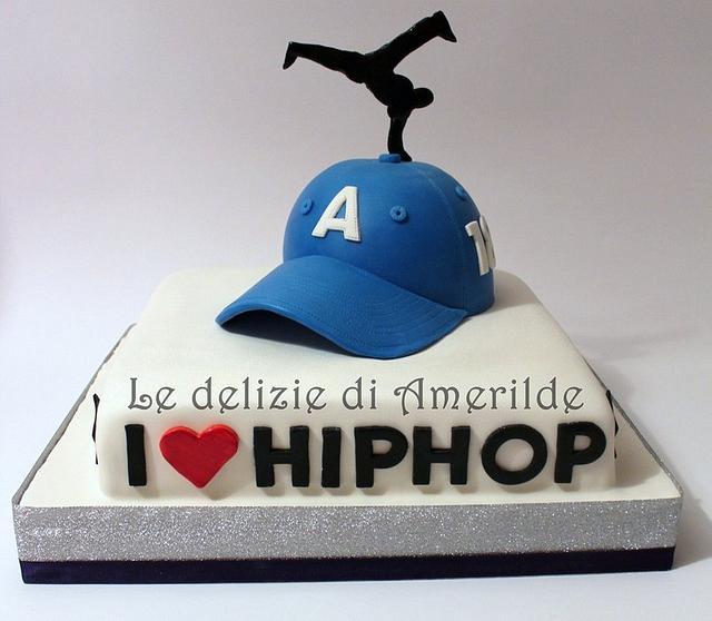 Hip-hop cake