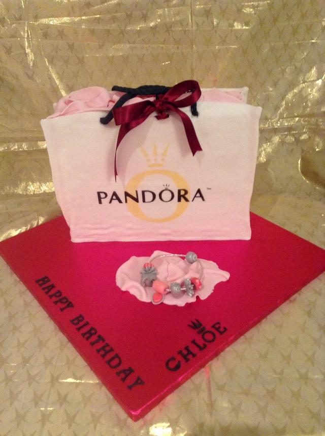 Pandora bag and bracelet