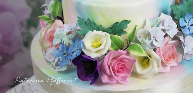 Love in watercolor