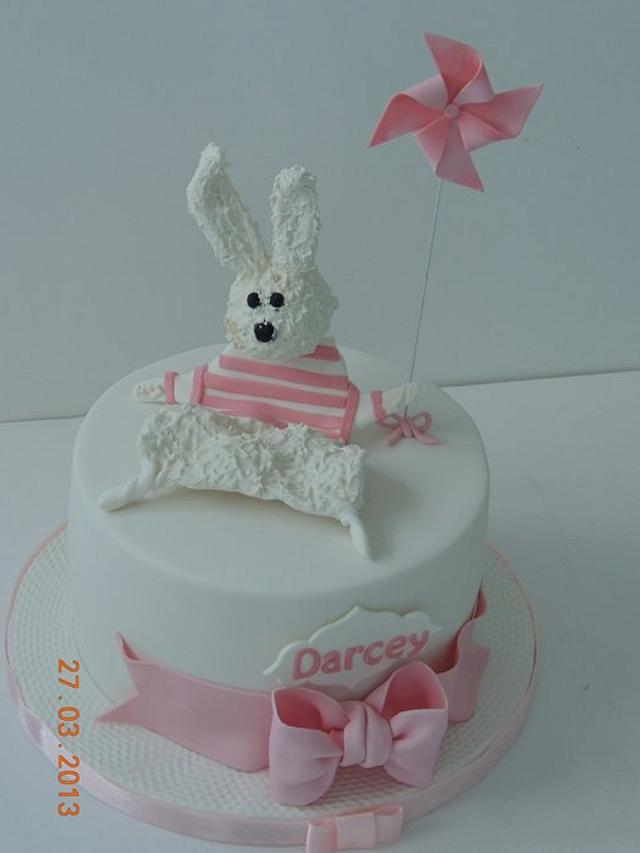pinwheel and favourite bunny