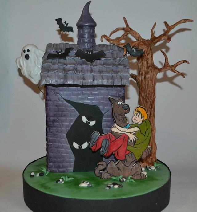 Scoby-Doo Halloween cake!