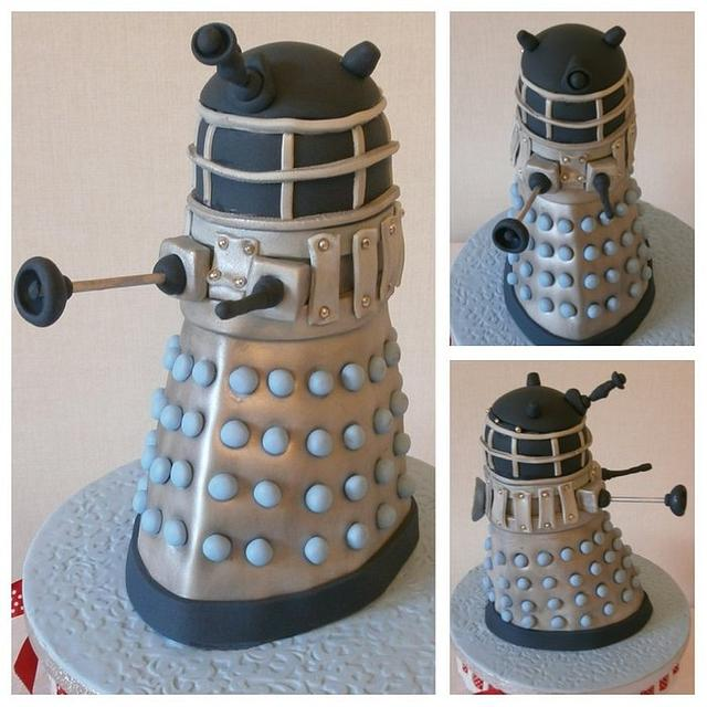 Tickety Boo Cakes -  Dalek Cake