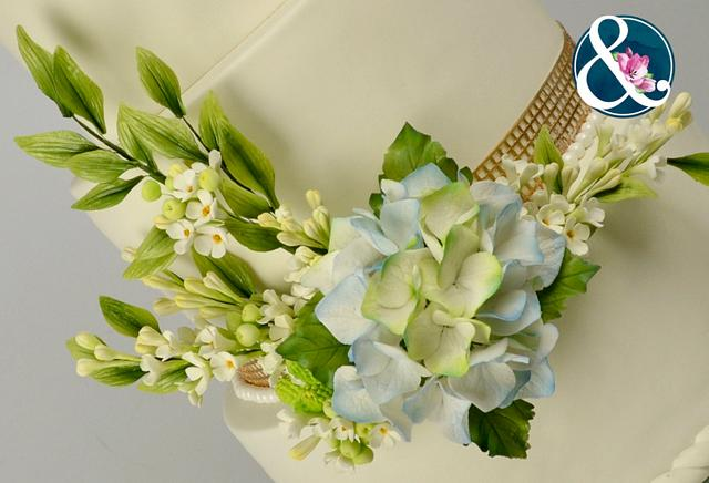The bride's bouquet