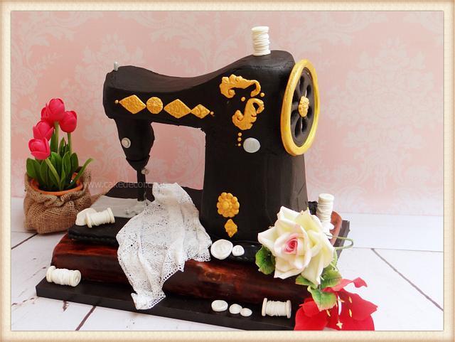 Fine 50Th Birthday Cake For My Mom Cake By Prachi Dhabaldeb Cakesdecor Personalised Birthday Cards Veneteletsinfo