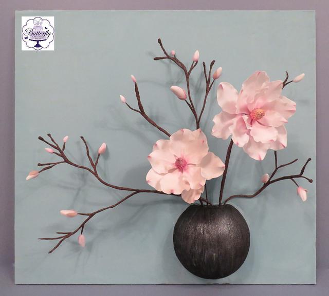 Magnolia - Sugar Art Museum Collaboration