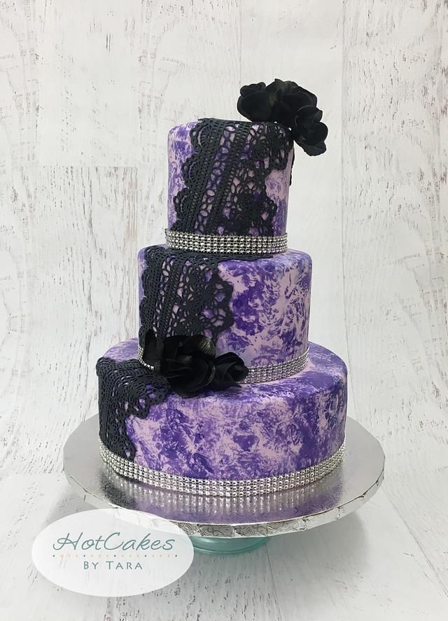 Purple Bling Shower