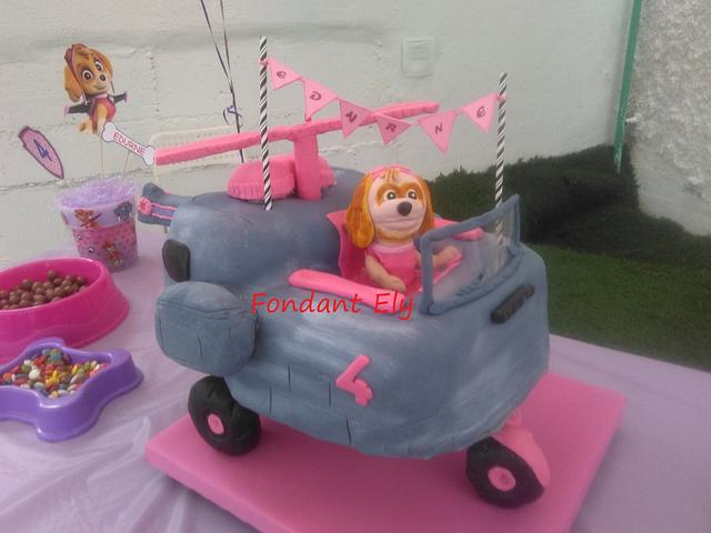 Cake Paw Patrol  Skye