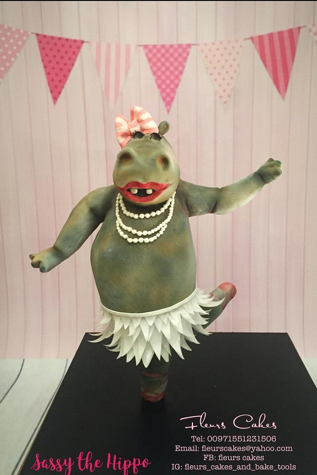 Sassy the Hippo