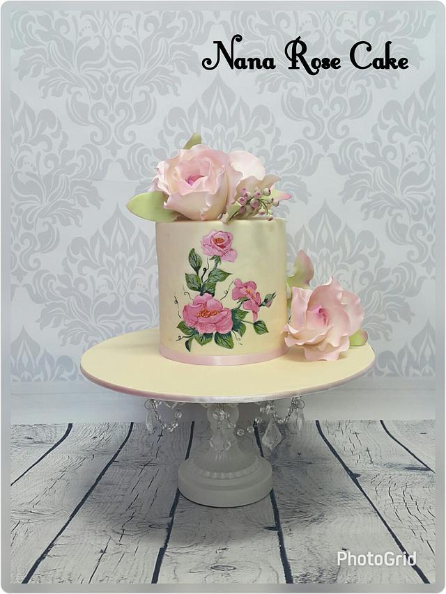 Anniversary unique cake
