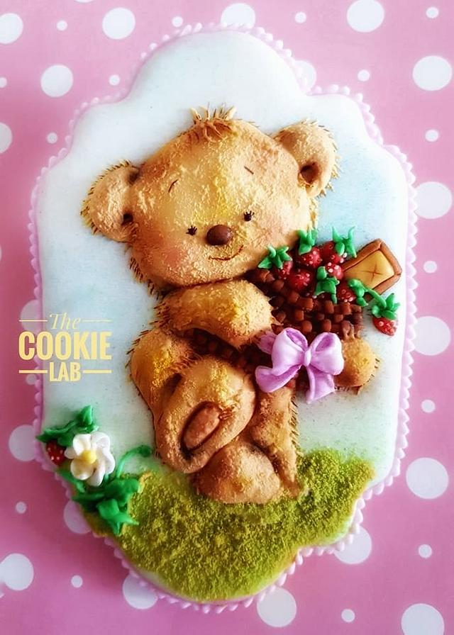 Teddy Bear - Textures, Volume and happiness!