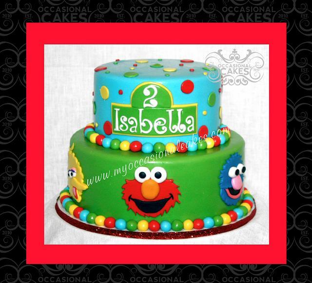 Miraculous Sesame Street Birthday Cake Cake By Occasional Cakes Cakesdecor Funny Birthday Cards Online Necthendildamsfinfo