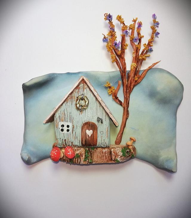 Little Teal House