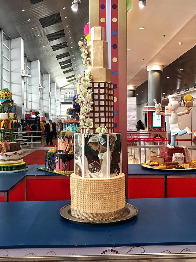 Philippine Inspired Wedding Cake - cake by Jackie - CakesDecor
