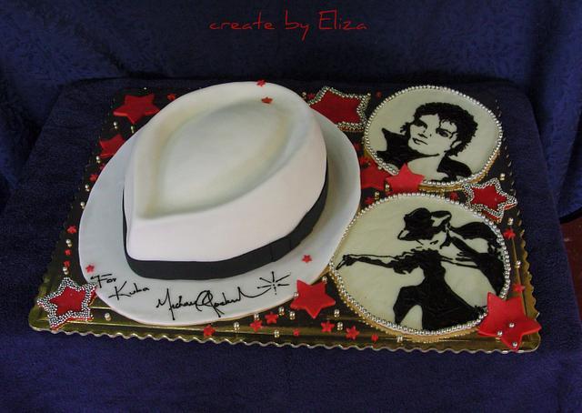 Michael Jackson theme cake - cake by Eliza - CakesDecor
