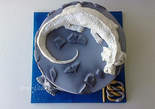 The neverending story cake