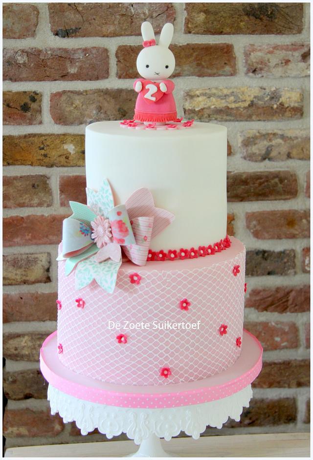 Miffy, birthday cake for a little girl....