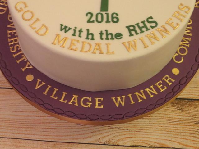 winners cake