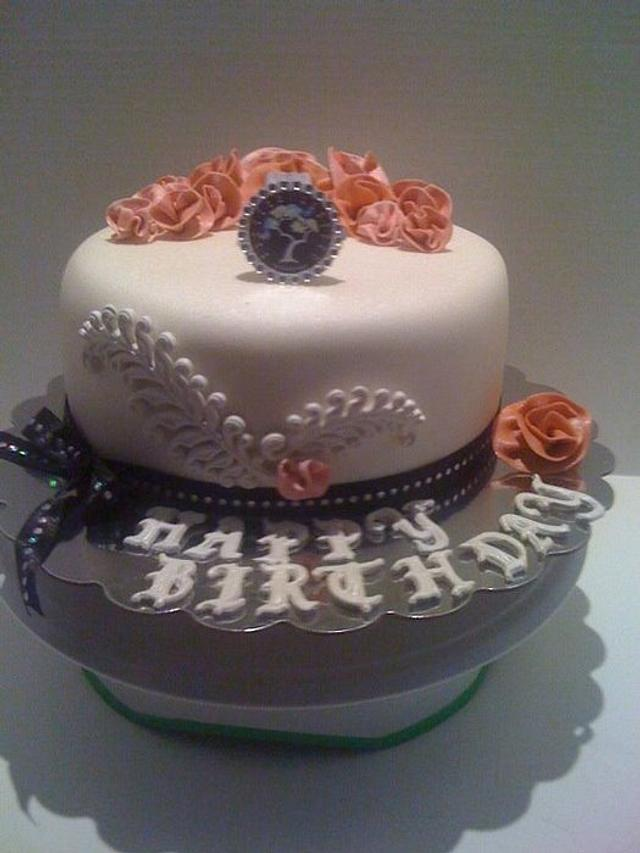 Van Cleef and Arpels Butterfly Symphony inspired cake