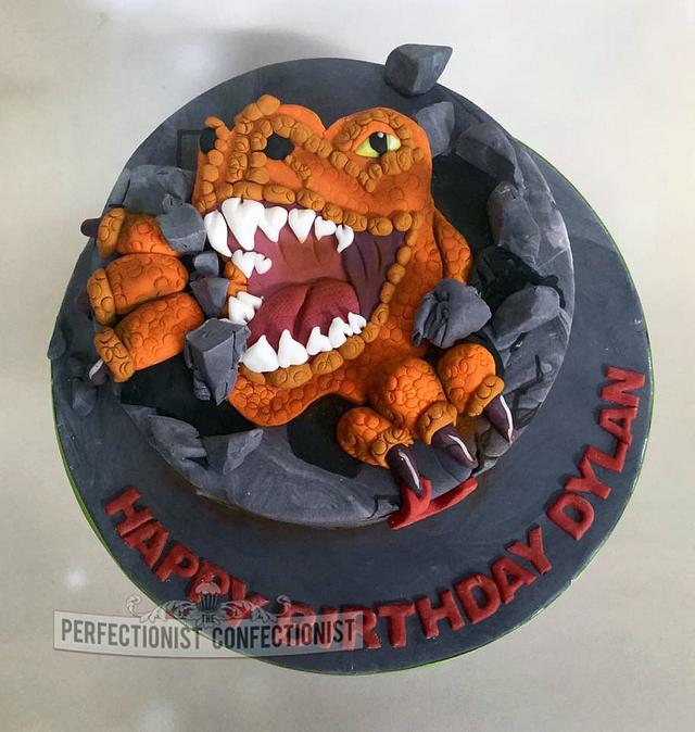 Prime Dylan T Rex Birthday Cake Cake By Niamh Geraghty Cakesdecor Personalised Birthday Cards Paralily Jamesorg