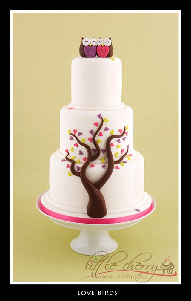 Love Birds Cake