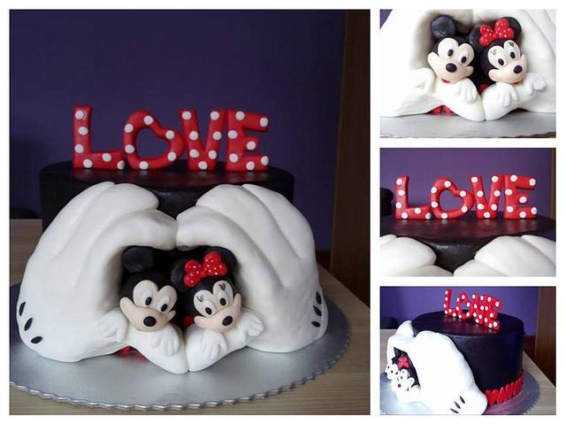 Love disney cake
