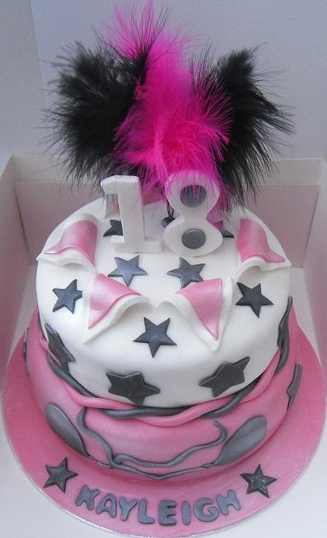 18th celebration cake