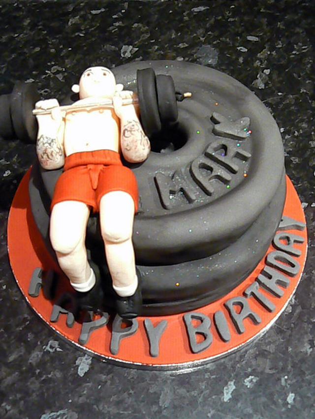 Muscleman cake