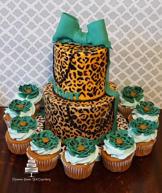 Hand-painted Leopard Print
